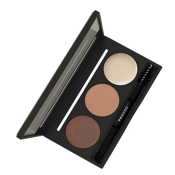 LIGHT BROWN | EYEBROWNS BROW PALETTE