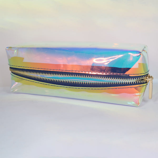 HOLOGRAPHIC MAKEUP UP BAG | PROVOC MAKEUP DISCO BAG