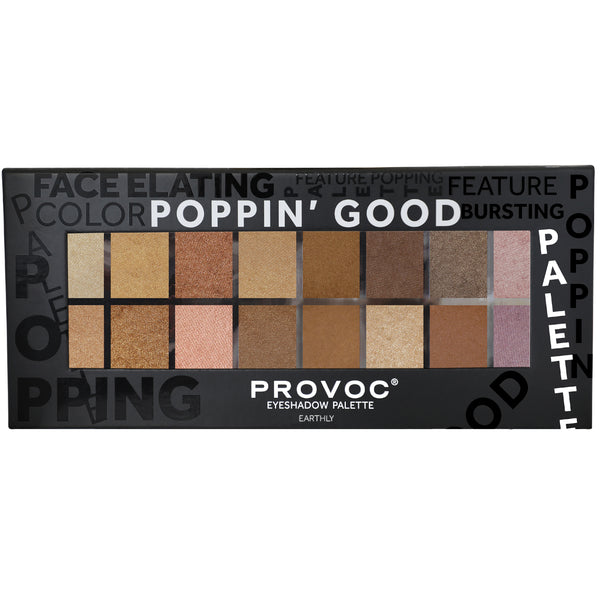 EARTHLY EYESHADOW  PALETTE | POPPIN' GOOD PALETTES