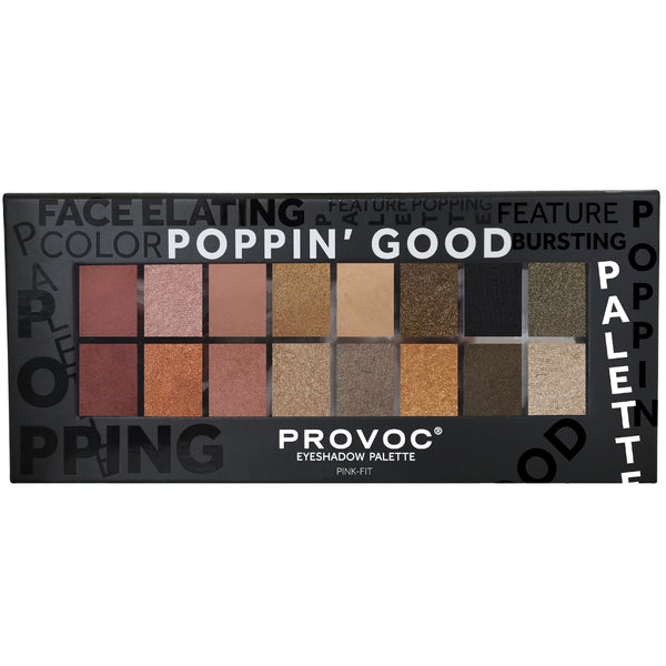 PINK-FIT EYESHADOW  PALETTE | POPPIN' GOOD PALETTES