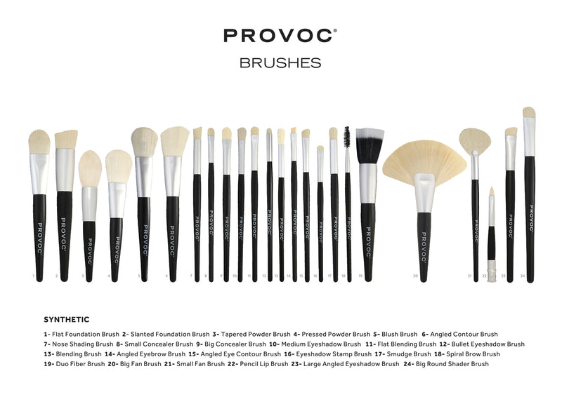 E805S | ANGLED EYE CONTOUR BRUSH