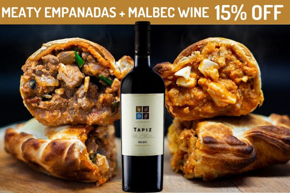 CHANGO PERFECT PAIRING MEATY - Chango Empanadas