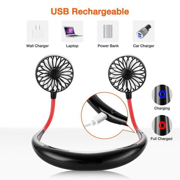 USB Portable Fan - Blue