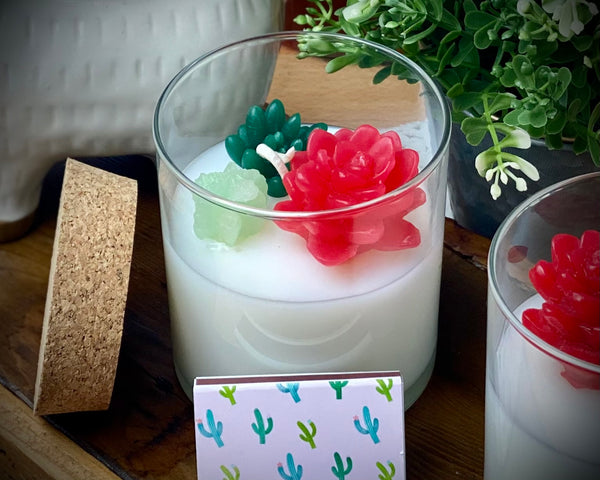 Shop Candle ~ Cactus Flower Tumbler