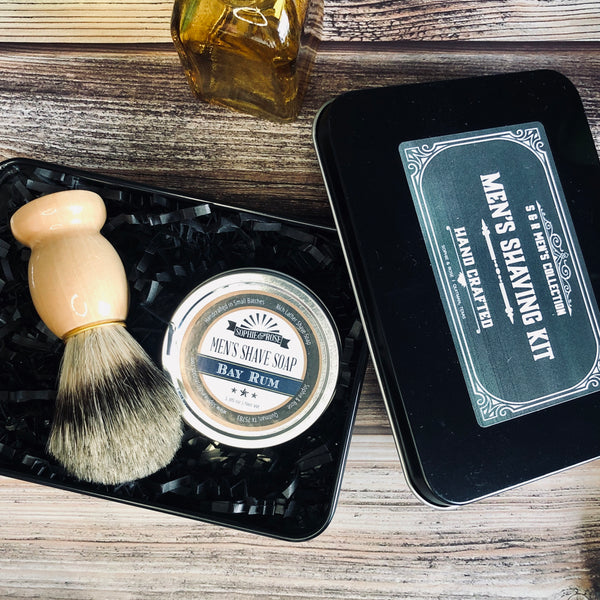 S&R Men's Shaving Set - Gift Box