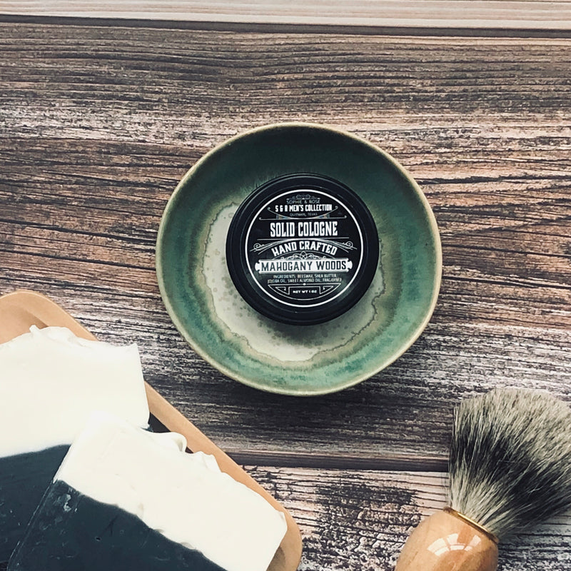 Men's Collection ~ Solid Cologne Tin