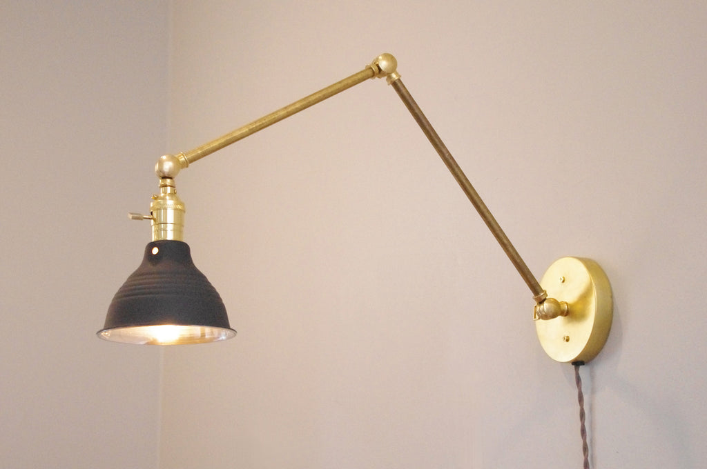 Articulating Brass Boom Lamp 2.0 – Long Made Co.