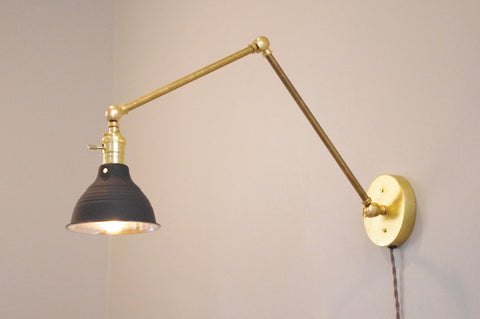 Articulating Brass Boom Lamp 2.0