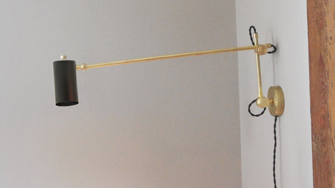 Cove Industrial Task Lamp