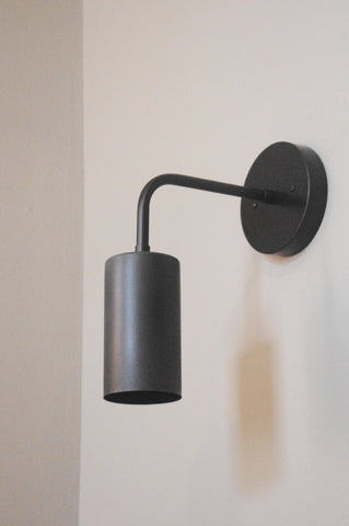 Cylinder Bent Wall Lamp
