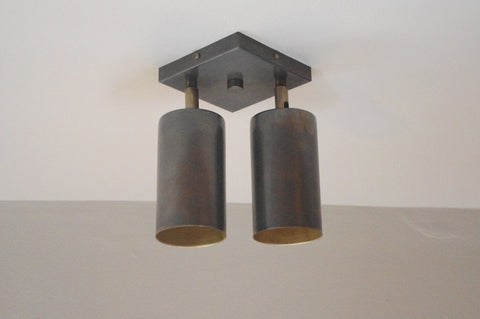 Cylinder Oxidized Double Spot