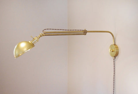 Concordia Swing Arm Lamp - Extending