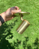 Cylinder Adjustable Spot - Side Mount - Warm Oxidized Brass