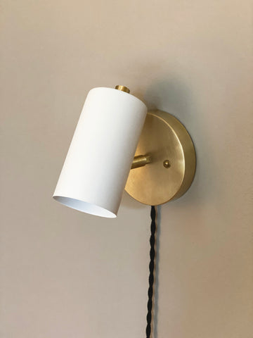 Cove Wall Lamp with Switch