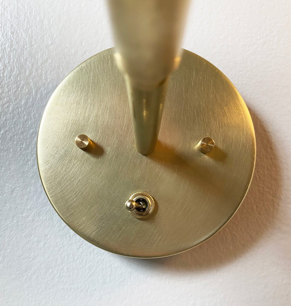 Brass On/Off Switch