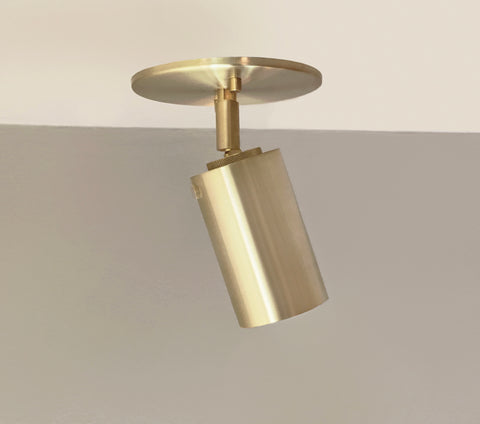 Cylinder Adjustable Spot - Top Mount