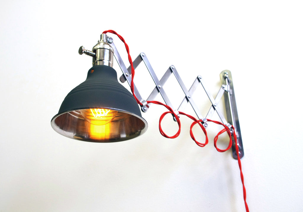 Original Scissor Lamp (Red, Yellow, Blue or Green Wire)