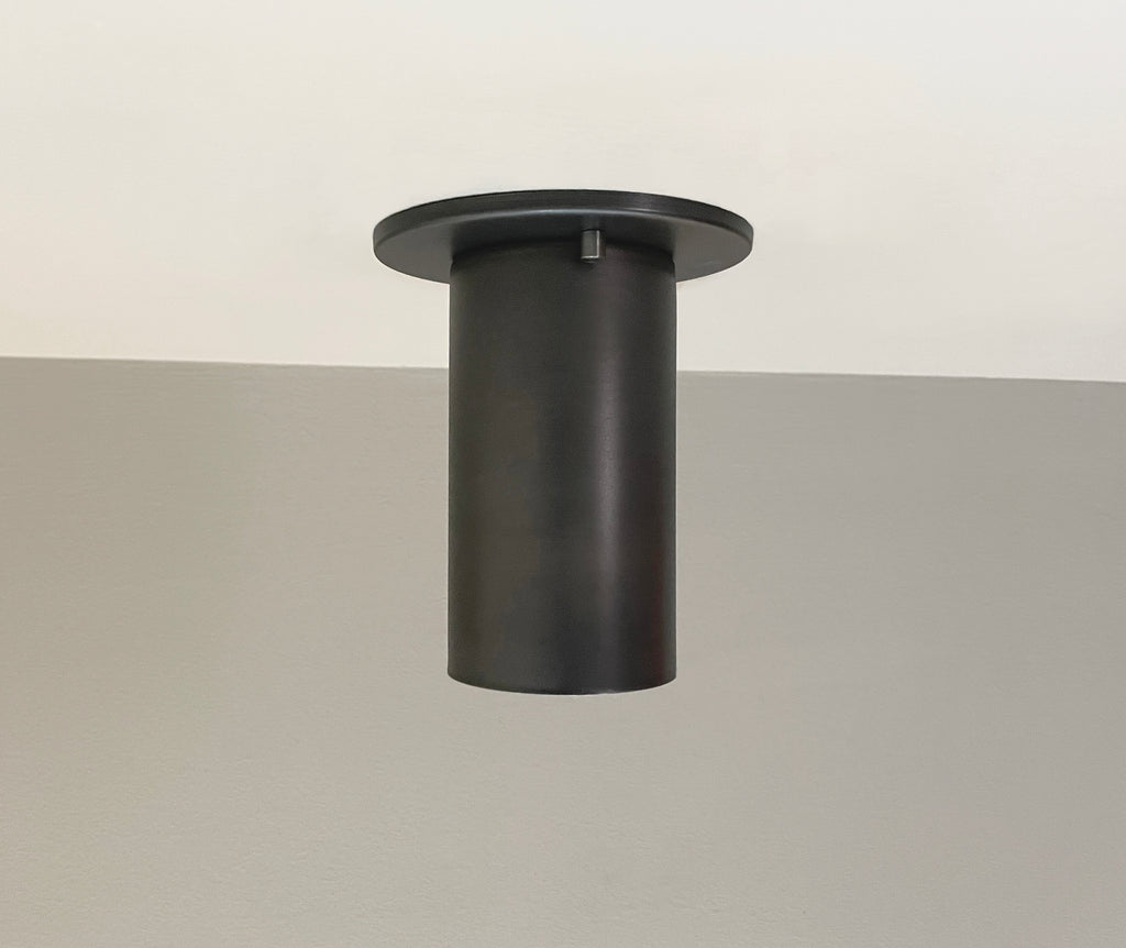 Cove Flush Spot - Black Oxidized Steel