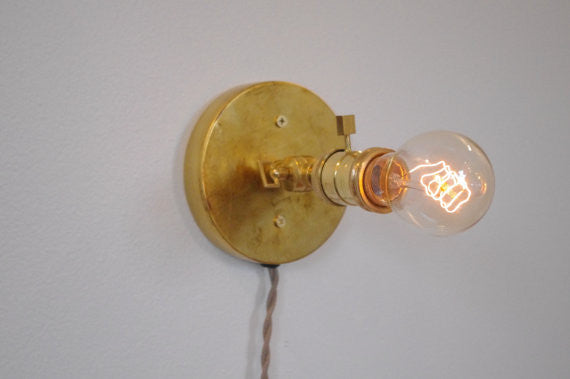 Petite Edison Wall Light