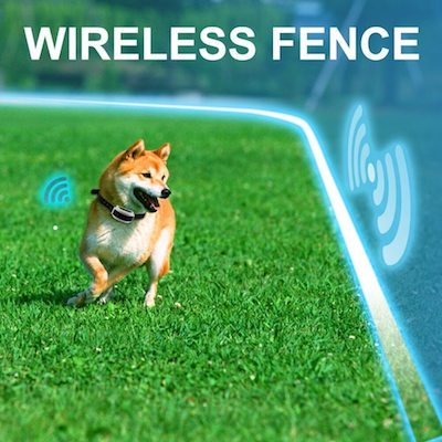 Invisible Wireless Dog Fence, Invisible Dog Fence, Wireless Electric Dog Fence