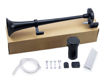 train horn kit black