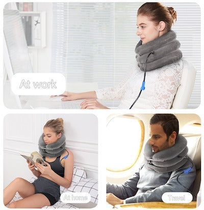 neck traction at home