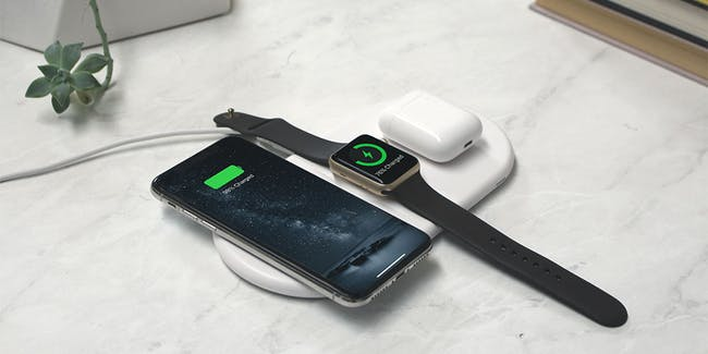 Wireless Charging Pad For Apple Watch iPhone Samsung Airpods