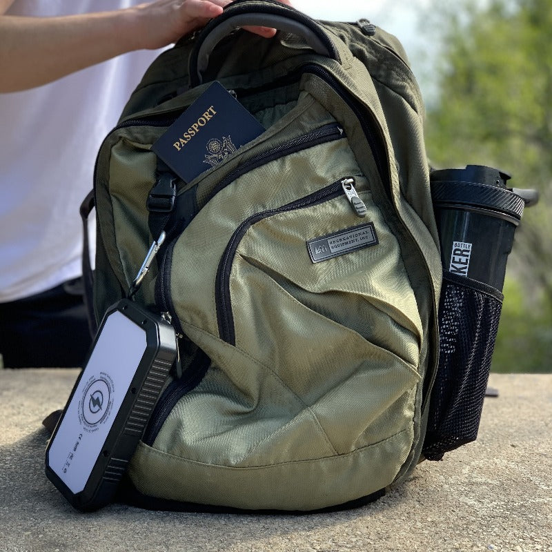 backpacking solar charger