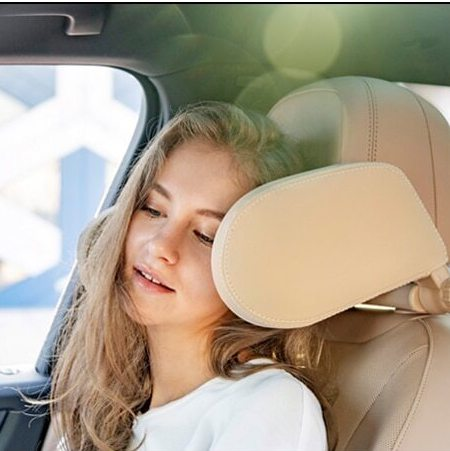 Car Seat Headrest Pillow, Head Neck Support Detachable Seat Pillow