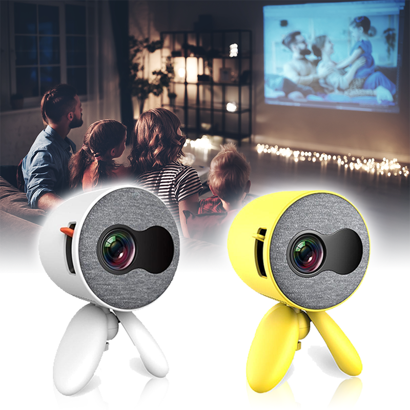 Mini Projector, YG220 Portable Movie Projector for Home Theater Game