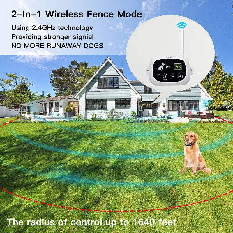 invisible fence for dog electric wireless dog fence with collar pet containment system