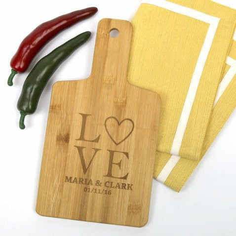 Personalized Love Serving Board