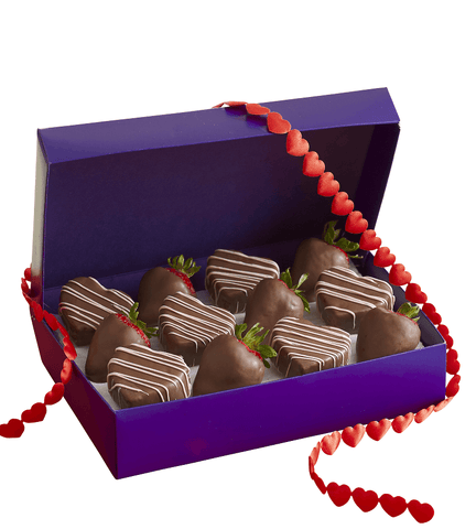 Chocolate Heart Delights.