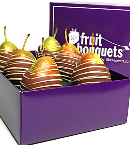 Chocolate Covered Belgian Pears