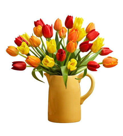Autumn Tulip Arrangement, 15-30 Stems