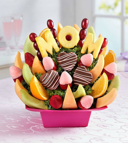 Best Mom Fruit Bouquet.-OOS