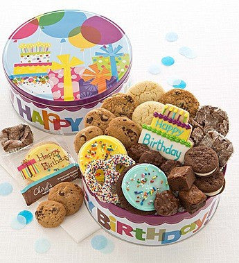 Happy Birthday Musical Treat Bin - OOS