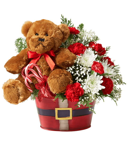 Merry Red Bear