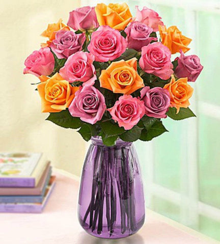 Colorful Spring Roses. - OOS