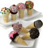Yummy Ice Cream Cone Pops