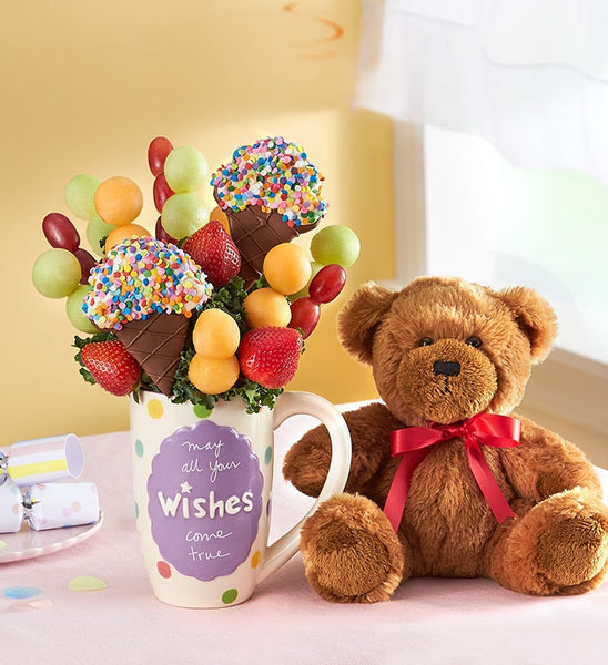 Ice cream Wishes with Teddy Bear