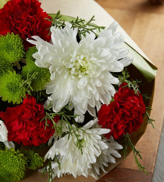 Holiday Wishes Bouquet - OOS