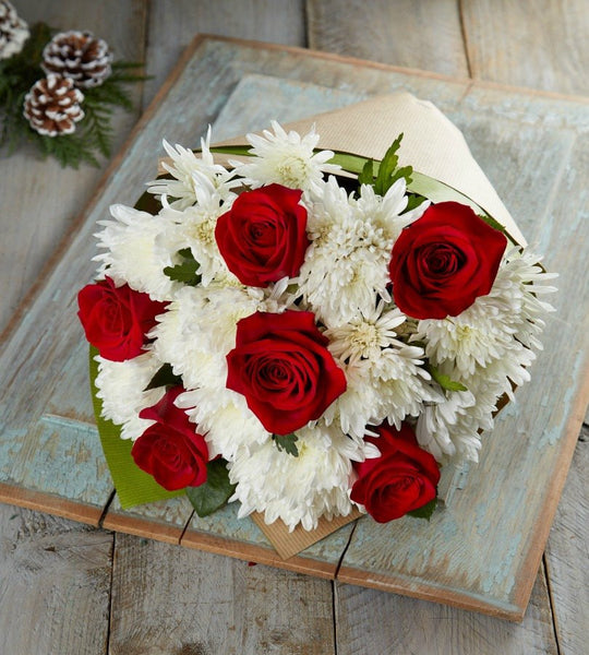 Heart Of Christmas Bouquet - OOS