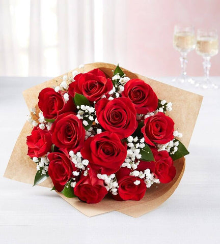 Red Roses, 6-12 Stems.