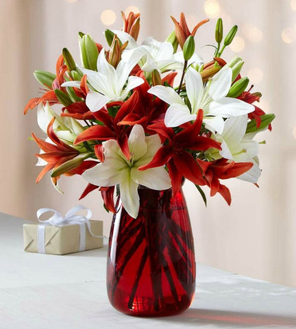 Joyful Lily Bouquet