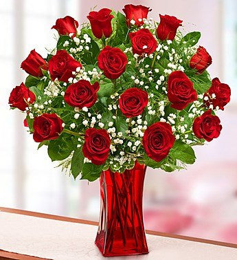 Ruby Red 18 Long Stem Roses-OOS
