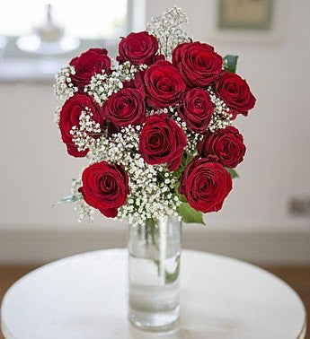 Sophisticated Red Roses