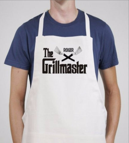 The Grillmaster Personalized BBQ Apron