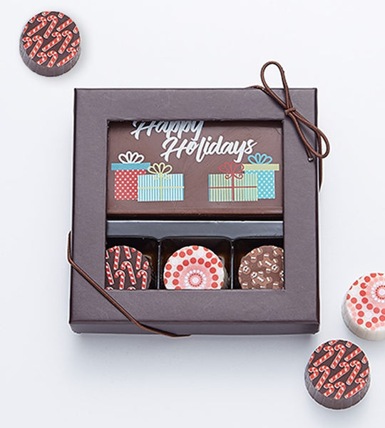 3 Truffles + Holiday Card - 81900
