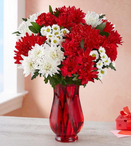 Radiant Red Bouquet